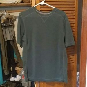 Dark green men's t-shirt